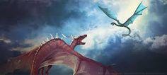 dragones y sheks= enemigos