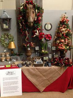 Designer Flower Center's Christmas Decor at the Fresno Home Show, November 8,9,10, 2014.