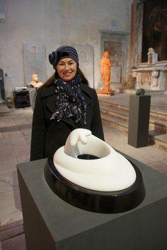 """Nel 2012 partecipa alla decima edizione di """"Donna scultura"""" a Pietrasanta"""