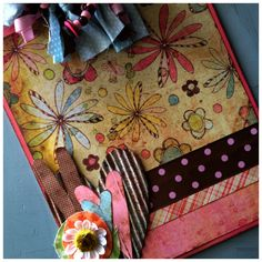 Whimsical Altered Clipboard. $20.00, via Etsy.