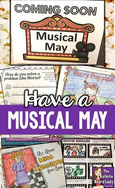 Great ideas for showing musicals in your classroom and making it a special, educational event your students look forward to every year.  What to do, how to do it and the top 5 reasons why!  Musical theater is for everyone. Make it a musical May or a musical any day!