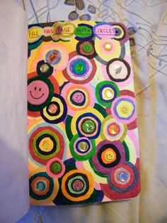 Wreck This Journal - Fill this page with circles