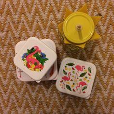 Sada 3 krabiček na jídlo - Flamingo, design Lauren Billingham #Flamingo #plamenak #lunchbox