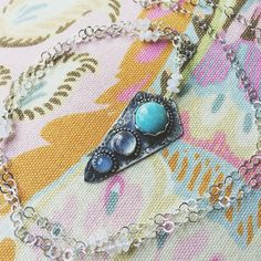 Shades of blue ☁️🌊 // blueandblueshop.etsy.com