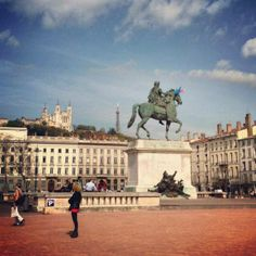 Things To Do in Lyon: Start your day at the center of Lyon - Place Bellecour - pinay flying high