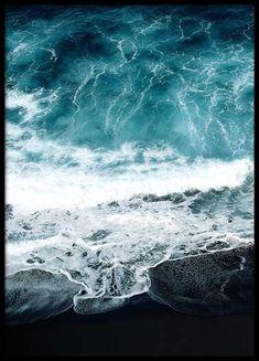 Beach aerial one Affiche dans le groupe Affiches / Formats / 50x70cm chez Desenio AB (2715)