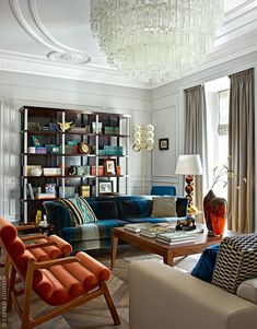 Ideas For Living Room Classic Furniture Chairs Interior Design Living Room, Living Room Designs, Interior Decorating, Decorating Ideas, Decor Ideas, Contemporary Interior Design, Best Interior Design, Living Room Without Sofa, Living Rooms