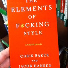 Should be required reading for English composition classes.