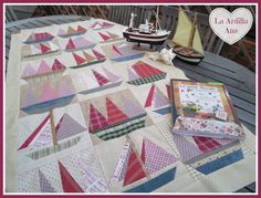 Old Sailboats Quilt