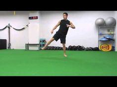 87.【筋トレ】1分間〜ながらトレーニング Side lunge crossover tap-