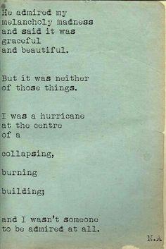 I was a hurricane