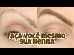COMO FAZER HENNA CASEIRA PARA SOBRANCELHAS - YouTube Eyebrow Makeup Tips, Gisele, Eyebrows, Youtube, Nature, How To Make, Hair, Beauty, Iphone