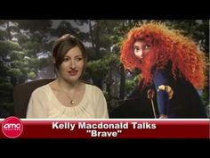 Kelly McDonald Talks #Brave