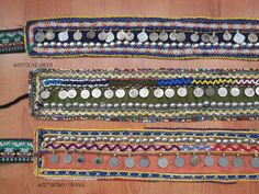 Vintage Afghanistan Belt Boho Coin Belt Gypsy by shoptreasurehunt