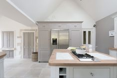 Kitchen designed by Sims Hilditch for the Somerset Converted Brewery.