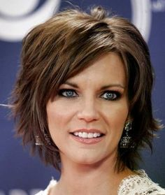 Trendy Short Hairstyle for Women Over 50