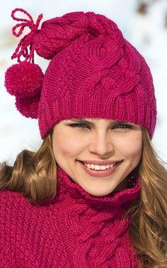 Palmikkosäärystimien ohje, aikuiselle Caps Hats, Hats For Women, Cable Knit, Knitting Patterns, Knitting Ideas, Knitted Hats, Knit Crochet, Winter Hats, Crocheting
