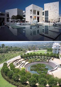 See the marvels of the Getty Museum or Getty Center Los Angeles with kids.