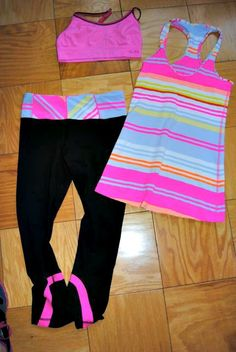 Lululemon outfit! so over priced but I WILL buy myself one of these cute workout outfits someday...