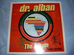 DR. ALBAN THE ALBUM Hello Afrika LOGIC RECORDS 211 391 VINYL LP Album