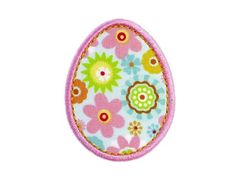 Free Embroidery Design: Easter Egg Applique - I Sew Free