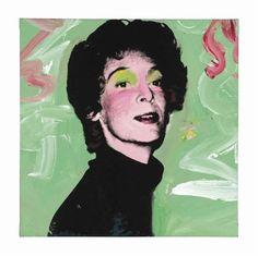 Marella Agnelli 1973 Andy Warhol