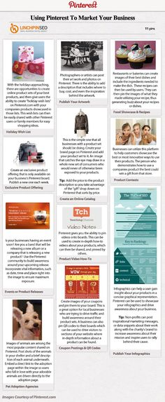 Pinterest Infographics Reveal Marketing Potential ... #2 of 2 infographics