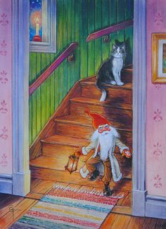 Gnomes, Painting, Painting Art, Paintings, Draw