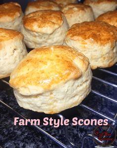 Recipe Videos, Food Videos, Ethnic Food, Plated Desserts, Scones, Goodies, British, Bread, Sweet