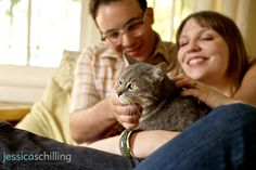 Idea for Dan and Raina engagement photos with cat - Google Search