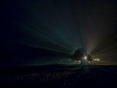An Illuminated Vermont Night #nightphotography #Vermont #foggyday #buyfineart via @jamesaiken09