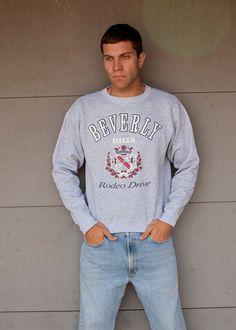 BEVERLY HILLS Rodeo Drive Sweatshirt on Etsy, $26.00