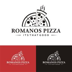 Romanos pizza new logo