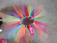 My favorite of all the tutu's i have made. No sew