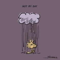 Not my day woodstock and snoopy from peanuts - radiserne dårlig dag kan hænde Snoopy Und Woodstock, Snoopy Love, Peanuts Cartoon, Peanuts Snoopy, Food Cartoon, Cartoon Man, Peanuts Comics, Charlie Brown Desenho, Peanuts Characters