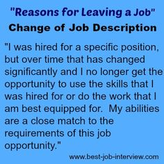 Valid reasons for leaving a job. How to explain why you want to leave your job. Best interview answers to the reason for leaving interview question. Interview Answers, Interview Skills, Job Interview Questions, Job Interview Tips, Job Interviews, Interview Techniques, Job Resume, Resume Tips, Resume Ideas