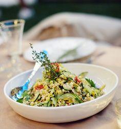 Summer Squash and Charred Corn Salad