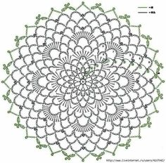 This Pin was discovered by Rie Crochet Dreamcatcher Pattern, Crochet Snowflake Pattern, Crochet Lace Edging, Crochet Wool, Crochet Diagram, Crochet Stitches Patterns, Crochet Round, Crochet Chart, Crochet Squares