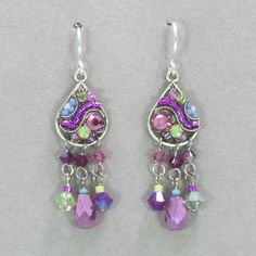 Firefly Mosaic Earrings - Rose