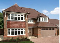 4 bedroom detached house for sale in Church Road, Leckhampton, Cheltenham, - Rightmove. 1930s House Exterior, Redrow Homes, European City Breaks, The School Run, House Extensions, Open Plan Kitchen, Detached House, Brick, Shed