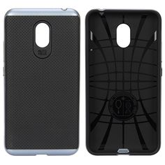 IPAKY Bumblebee Hard PC Protective Case TPU Soft Back Cover for MEIZU Metal