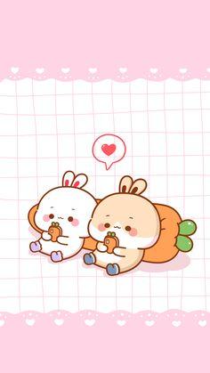 微博 Kawaii Cute Wallpapers, Wallpaper Kawaii, Cute Disney Wallpaper, Wallpaper Iphone Cute, Cute Bunny Cartoon, Cute Cartoon Images, Cute Kawaii Animals, Cute Bear Drawings, Cute Animal Drawings Kawaii