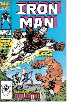 IRON MAN (Series Began (INVINCIBLE IRON MAN)(MARVEL) Issue comics in Fine condition. Published by Marvel. Fine - An exceptional, above-average copy that shows minor wear but is still relatively flat and clean with slight creasing or minor defects. Iron Man Comic Books, Marvel Comic Books, Marvel Characters, Comic Books Art, Comic Art, Marvel Comics, Book Art, Comic Books For Sale, Vintage Comic Books