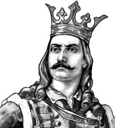 """Stephen III of Moldavia (also known as Stefan the Great, Romanian: Ștefan cel Mare, or """"Stefan the Great and Holy""""; 1433 – July was Prince of Moldavia between 1457 and 1504 and the most prominent representative of the House of Mușat. Moldova, Dracula, Romania, Medieval, Statue, Drawings, Beautiful, Open Source, Bulgaria"""