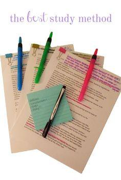 Cardigans & Chai: my favorite/the BEST study method.