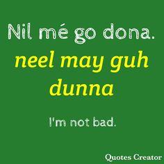 Gaelic Irish, Scottish Gaelic, Irish Pride, Moving To Ireland, Ireland Travel, Ireland Culture, Irish Jokes, Gaelic Words, Irish Language