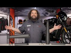 Bassani Performance Slip-On Muffler for Harley Street Review at RevZilla...