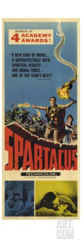 Spartacus, 1960 Giclee Print at Art.com