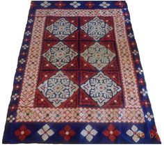 Flowers to Bloom – Ralli Quilt  Product Information:  Product Code: SV-955 Ralli Quilt Applique Work Material: Synthetic Fabric Applique Front and Block-Print Back Size: 80″ x 51″  Price: On request Status: Available  Please email or call us for further information info@ishraqi.com +92 322 ISHRAQI (4747274)  Sindhi Handmade Applique Ralli Quilt, Rilli