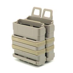 Buy FMA Airsoft Rifle Mag Magazine Fast Attach Tactical Pouch Molle System Module Combination Two Holder Magazine Pouches